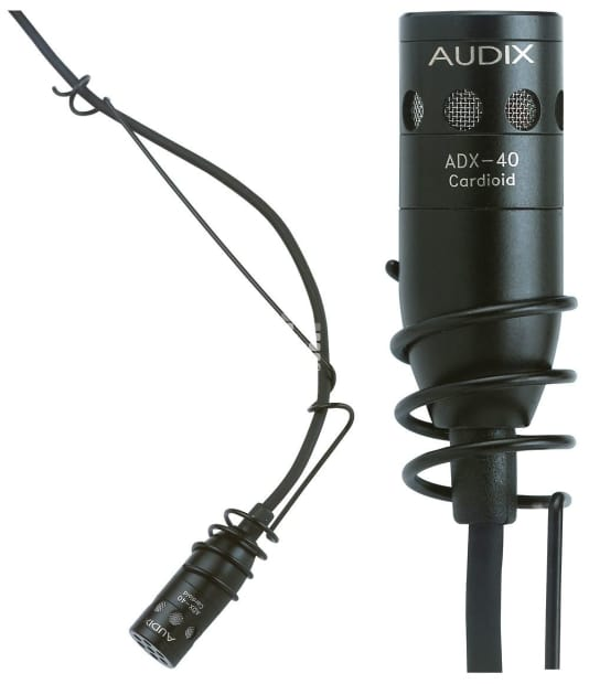 audix adx40 overhead hanging choir microphone for choirs reverb. Black Bedroom Furniture Sets. Home Design Ideas