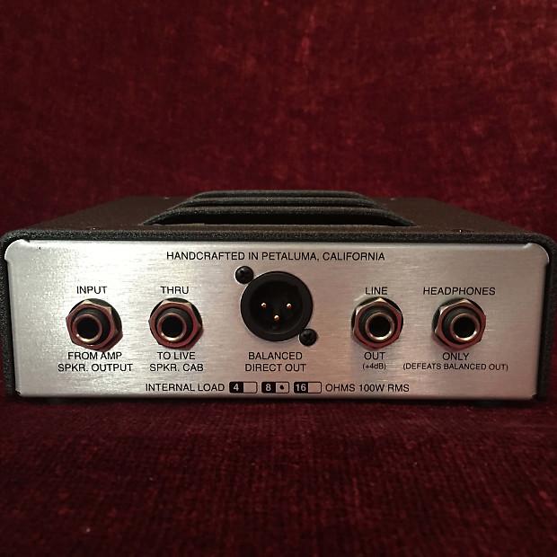Speaker Ohm Loads : Mesa boogie cabclone ohm speaker cabinet simulator