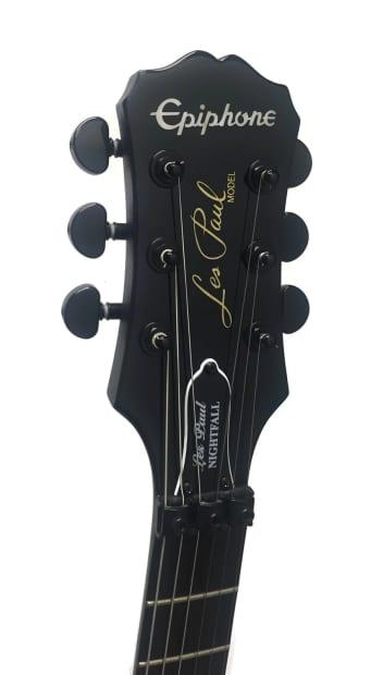 epiphone les paul nightfall electric guitar w floyd rose reverb. Black Bedroom Furniture Sets. Home Design Ideas