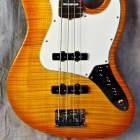 Fender USA Select Jazz Bass 2012 Amber Sunburst image