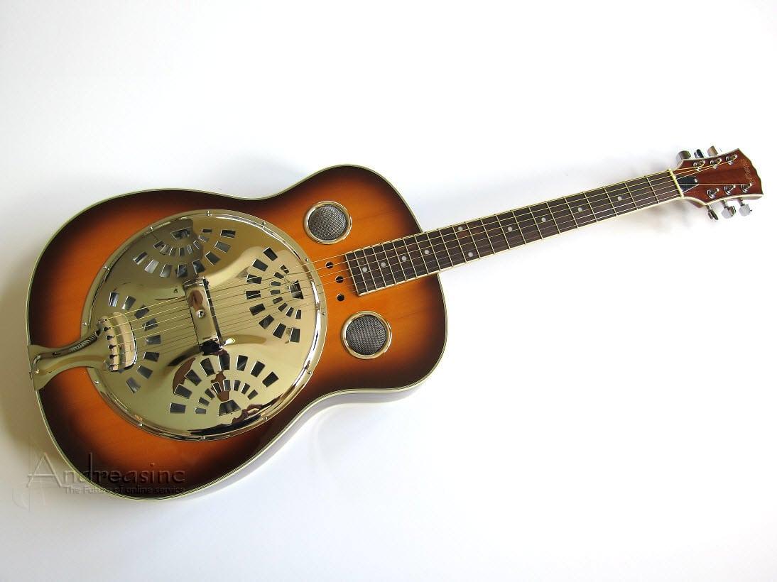 round neck spider resonator guitar reverb. Black Bedroom Furniture Sets. Home Design Ideas