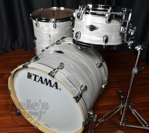 Tama Drums Sets Starclassic Performer B B White Silk Drum