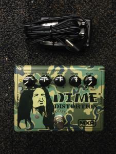 MXR Dime Distortion w/ Power Supply image