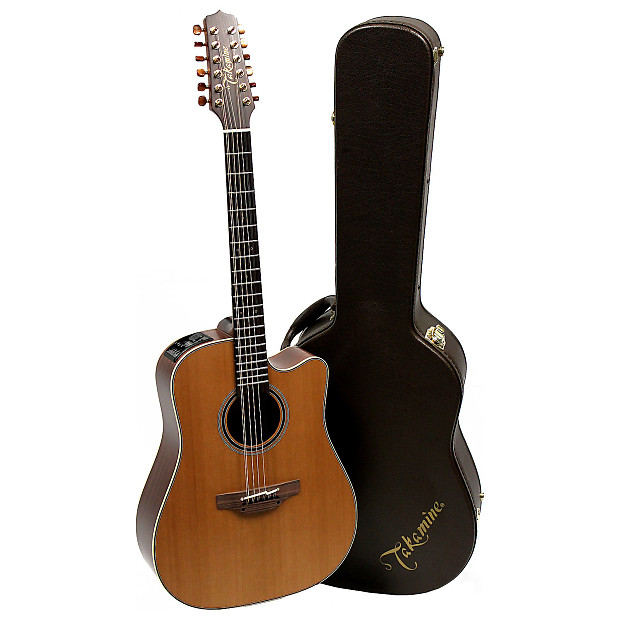 takamine p3dc 12 12 string acoustic electric guitar with case reverb. Black Bedroom Furniture Sets. Home Design Ideas