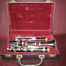 Buffet Crampon E-11 Wood clarinet with Van Doren B-45 Mouthpiece image