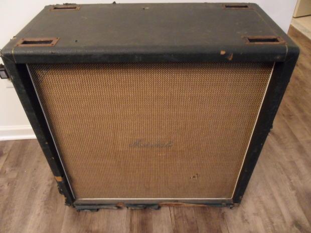 1968 vintage marshall 1982b 1982a 4x12 cabinet cab amp plexi jmp 1960b 1960a reverb. Black Bedroom Furniture Sets. Home Design Ideas