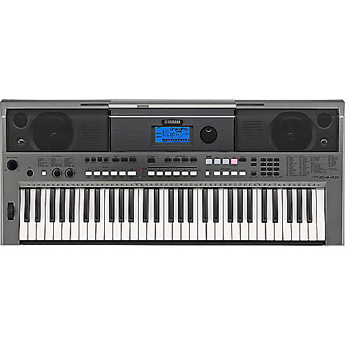 yamaha psr e443 61 key portable keyboard reverb