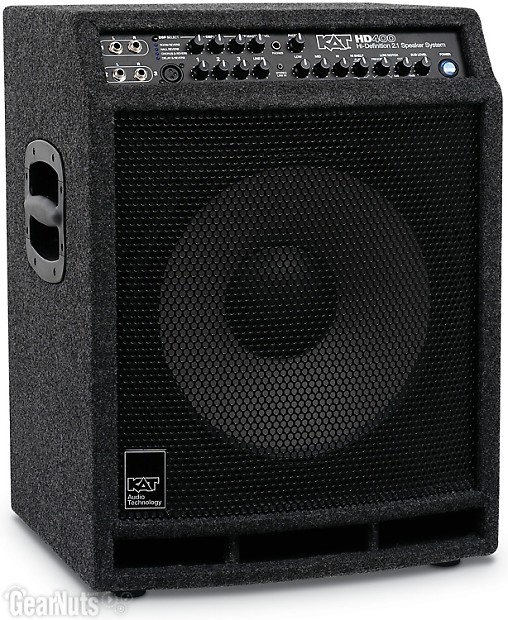 Kat Percussion 400 Watt 2 1 Stereo Drum Sound System Reverb
