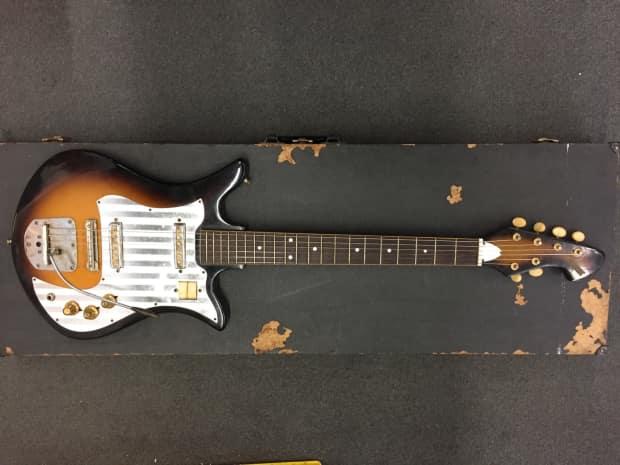 decca 60 39 s vintage electric guitar made in japan reverb. Black Bedroom Furniture Sets. Home Design Ideas