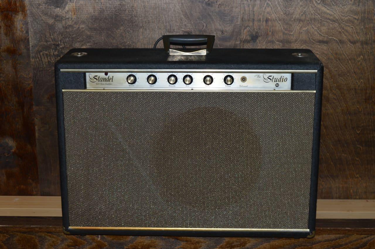 vintage standel studio xii 1965 electric guitar amplifier reverb. Black Bedroom Furniture Sets. Home Design Ideas