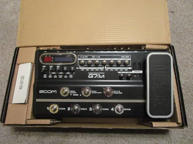 zoom guitar effects pedal g2 manual