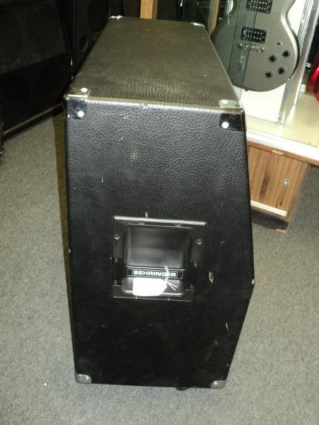 behringer bg412s ultrastack 400 watt 4x12 stereo surround electric guitar speaker cabinet reverb. Black Bedroom Furniture Sets. Home Design Ideas