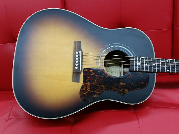 epiphone aj 45me masterbuilt acoustic electric guitar vintage reverb. Black Bedroom Furniture Sets. Home Design Ideas