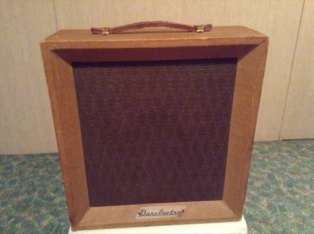 Vintage danelectro cadete amplificador modelo 122