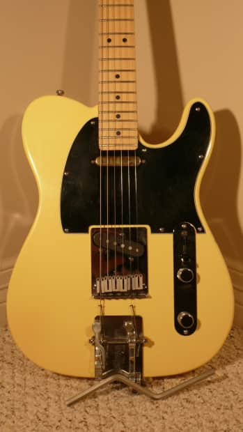 fender telecaster with hipshot b bender yellow reverb. Black Bedroom Furniture Sets. Home Design Ideas