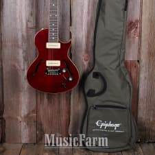 Epiphone Blueshawk Deluxe Les Paul Semi Hollow Electric Guitar with Gigbag image