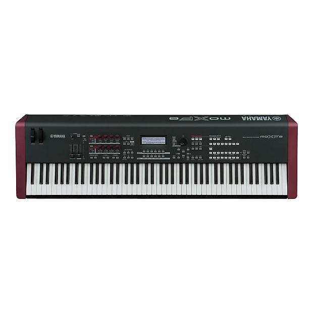Yamaha moxf8 88 key music production workstation reverb for Yamaha moxf8 88