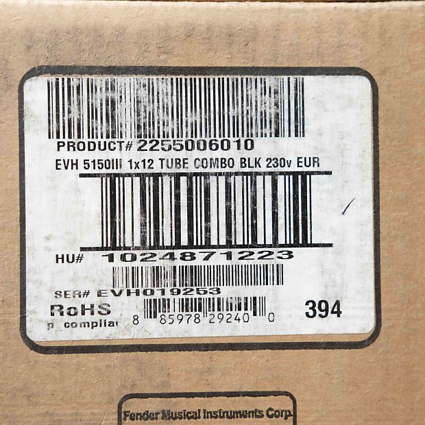 evh 5150 iii 50 watt manual
