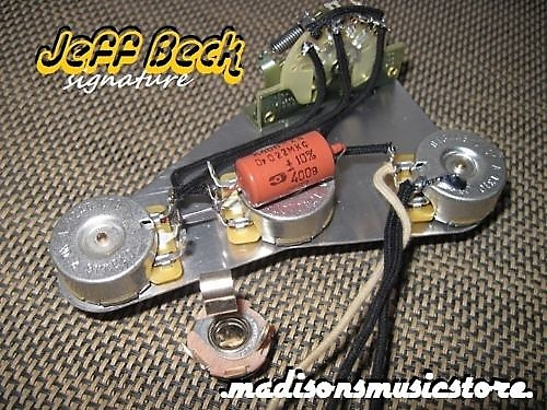 stratocaster wiring harness wiring diagram and hernes stratocaster prebuilt wiring harness kit 022uf cap fits a reverb home wiring harnesses stratocaster 5 way harness grease bucket tone circuit source