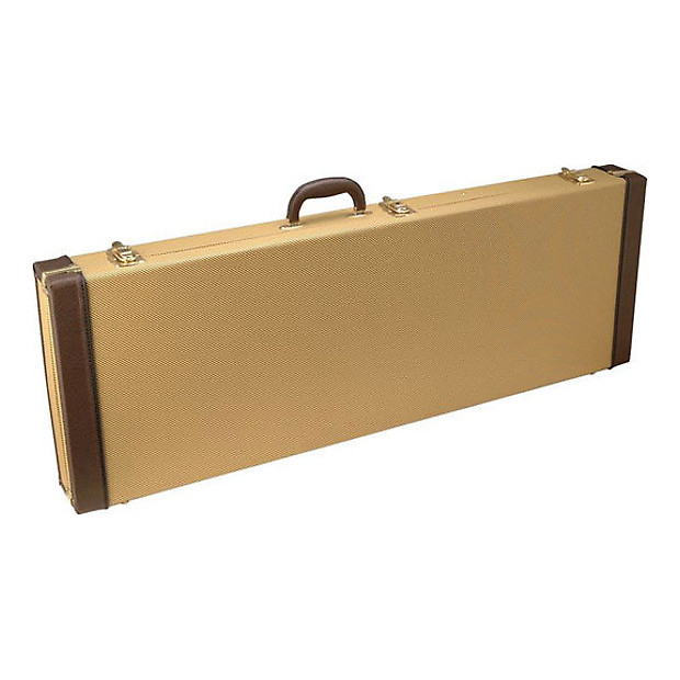 on stage gce6000 electric guitar hard case tweed reverb. Black Bedroom Furniture Sets. Home Design Ideas