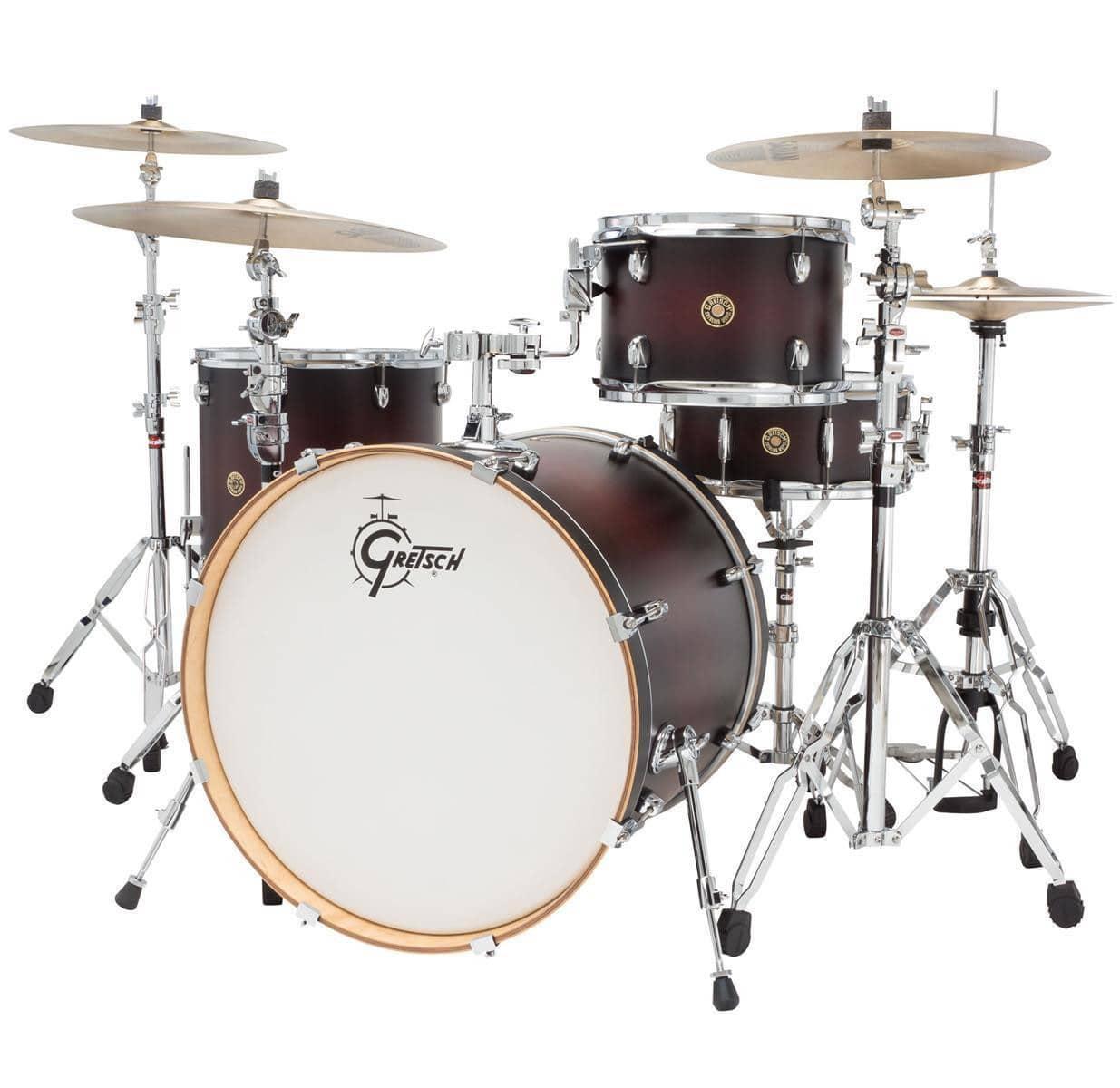 gretsch catalina maple 4 piece drum kit hardware reverb. Black Bedroom Furniture Sets. Home Design Ideas