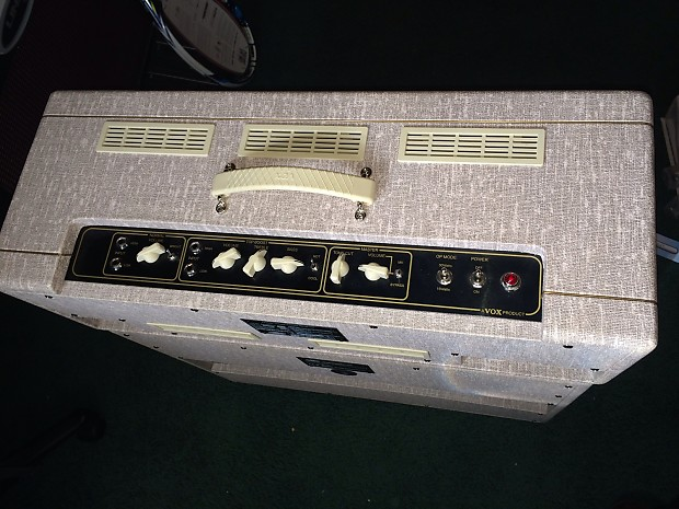 vox ac30 hw ac30hw handwired head modded by psionic reverb. Black Bedroom Furniture Sets. Home Design Ideas
