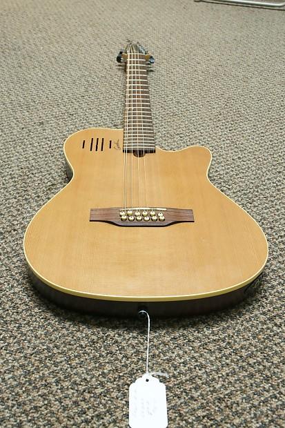 godin 12 string a12 thinline acoustic electric guitar reverb. Black Bedroom Furniture Sets. Home Design Ideas