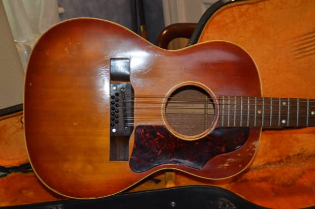 1964 gibson b25 12 string acoustic guitar see details reverb. Black Bedroom Furniture Sets. Home Design Ideas