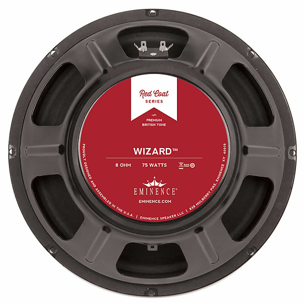 eminence the wizard 12 guitar amp cab speaker 8 ohm used reverb. Black Bedroom Furniture Sets. Home Design Ideas