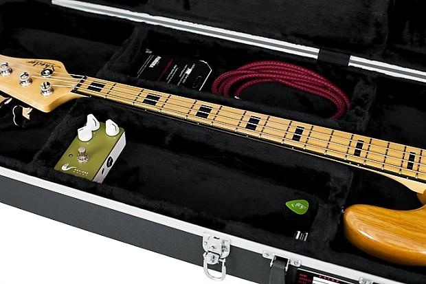 gator deluxe bass guitar hard case reverb. Black Bedroom Furniture Sets. Home Design Ideas