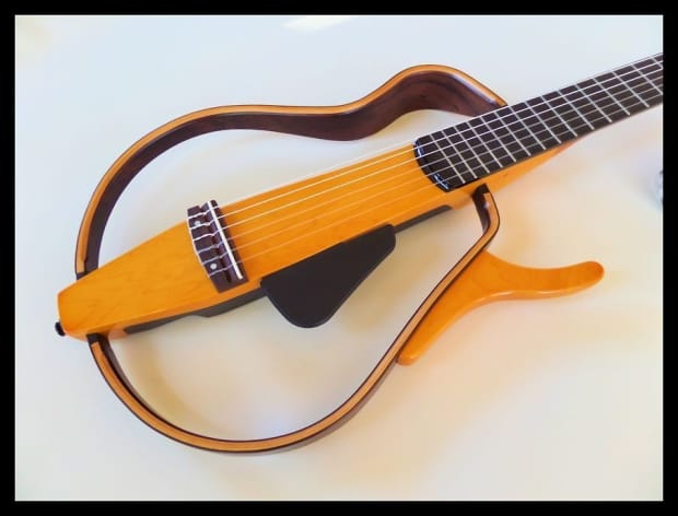 Yamaha slg130nw classical nylon string silent guitar reverb for Yamaha silent guitar slg130nw