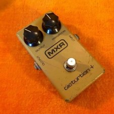 Original vintage MXR Distortion plus + pedal c 1979 analog overdrive block logo w box image