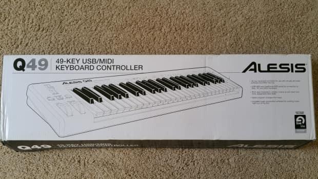 alesis q49 49 key usb midi keyboard controller reverb. Black Bedroom Furniture Sets. Home Design Ideas