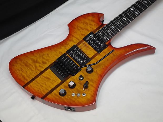 BC Rich Mockingbird ST electric Guitar Honey Burst NEW ...
