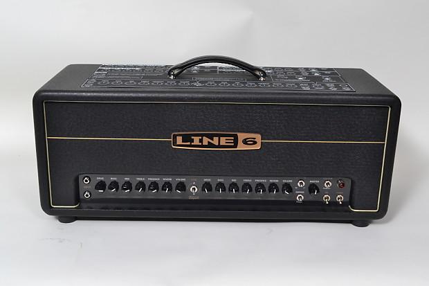 line 6 dt50 head electric guitar amplifier amp modeling reverb. Black Bedroom Furniture Sets. Home Design Ideas