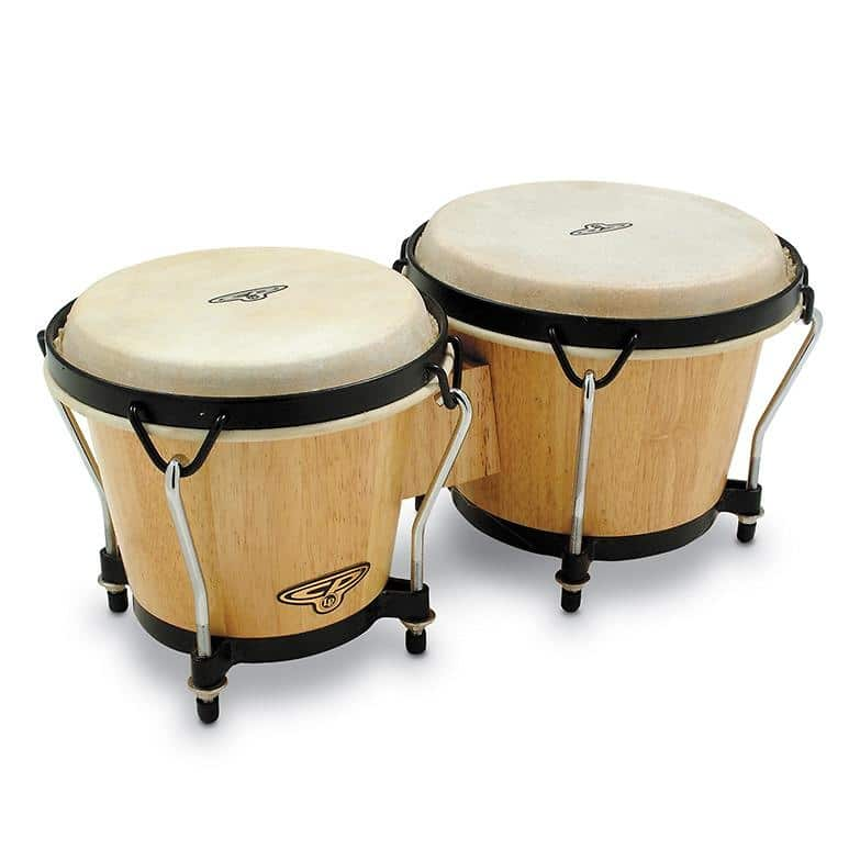 latin percussion cp traditional bongos natural wood finish reverb. Black Bedroom Furniture Sets. Home Design Ideas