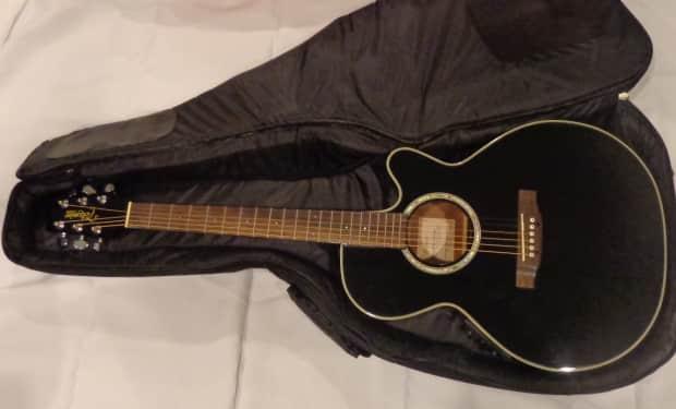 takamine eg 541 sc electric acoustic guitar black reverb. Black Bedroom Furniture Sets. Home Design Ideas