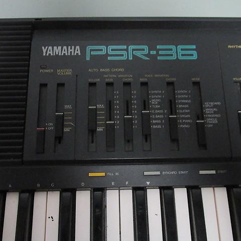 Yamaha Psr 36 Portable Keyboard 61 Keys Reverb