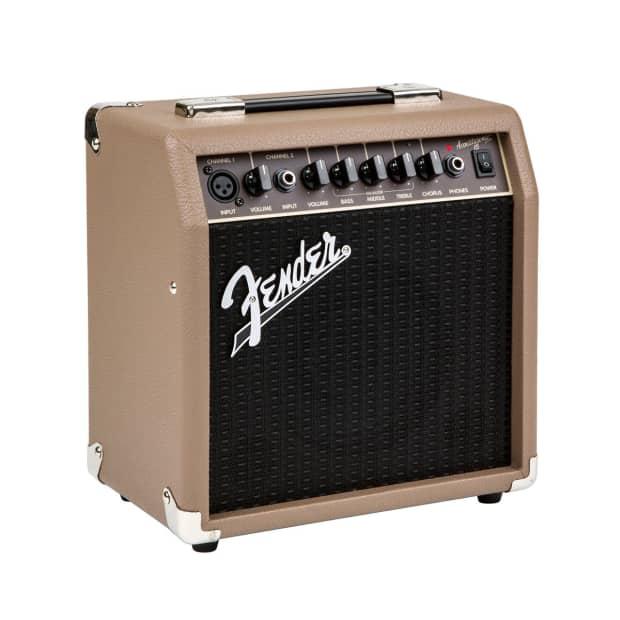 fender acoustasonic 15 watt combo acoustic guitar amplifier reverb. Black Bedroom Furniture Sets. Home Design Ideas