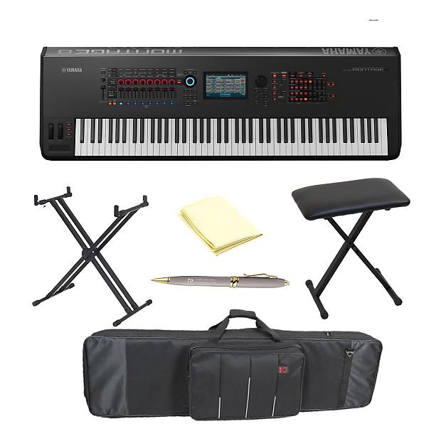 Yamaha montage8 88 key flagship music synthesizer with for Yamaha montage 8 case