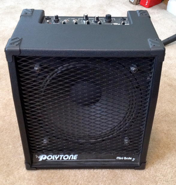 polytone mini brute ii guitar combo amplifier with cover reverb. Black Bedroom Furniture Sets. Home Design Ideas
