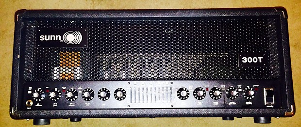 sunn 300t all tube bass guitar amp head made in the usa by reverb. Black Bedroom Furniture Sets. Home Design Ideas