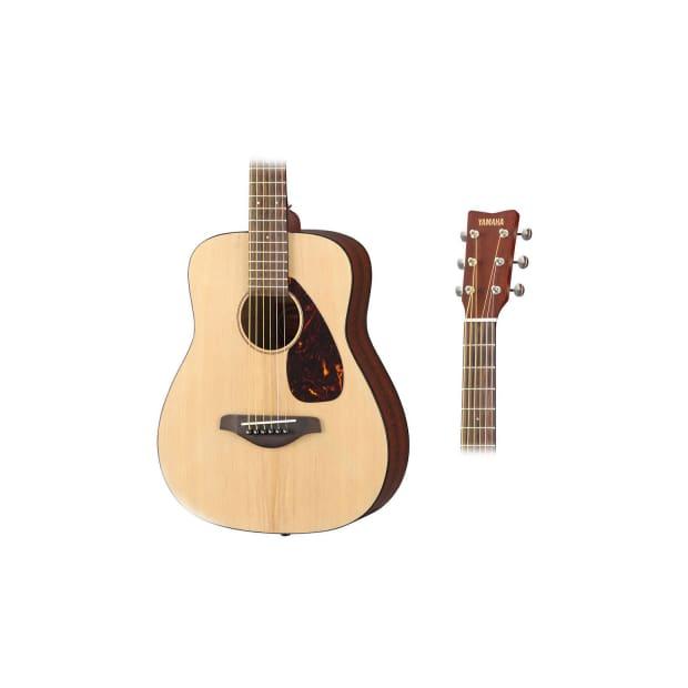 Yamaha jr2 3 4 scale folk acoustic guitar bundle reverb for Yamaha jr2 3 4