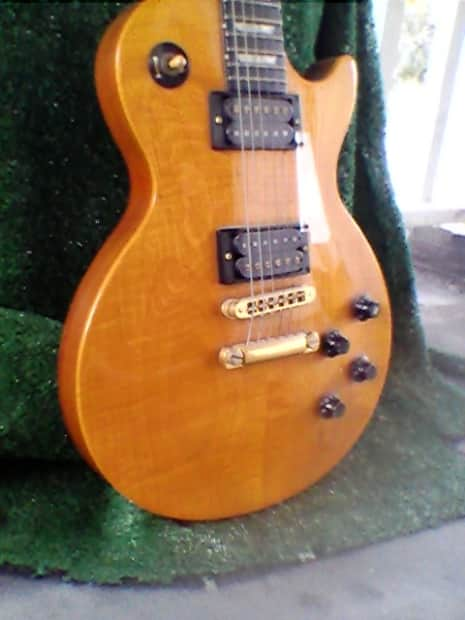 gibson les paul studio lite 1991 translucent amber reverb. Black Bedroom Furniture Sets. Home Design Ideas