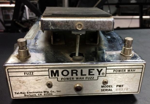 morley power wah fuzz pedal reverb
