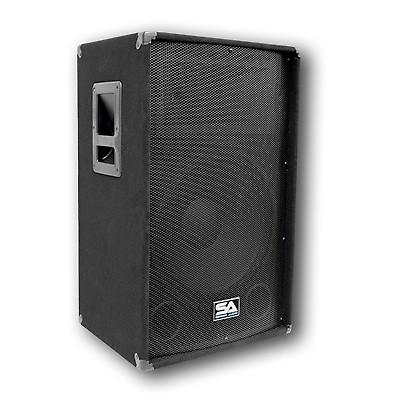 Pair 15 pa speakers 15 inch floor monitors w cables for 15 floor speakers