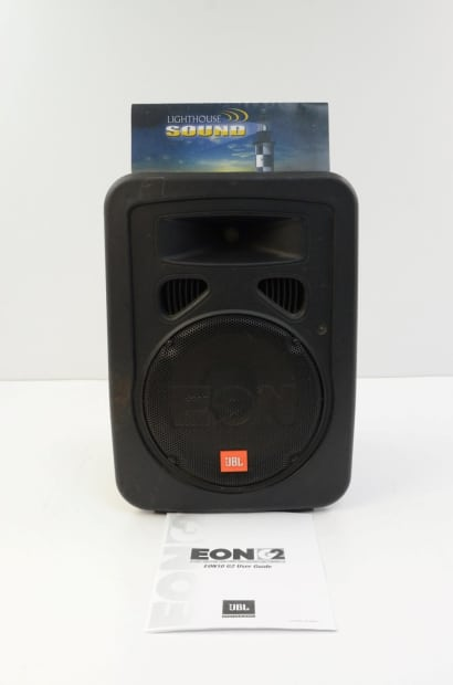 Jbl Eon 10 G2 Powered Speaker Floor Monitor Reverb
