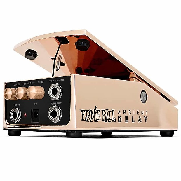 ernie ball expression series ambient delay pedal reverb. Black Bedroom Furniture Sets. Home Design Ideas