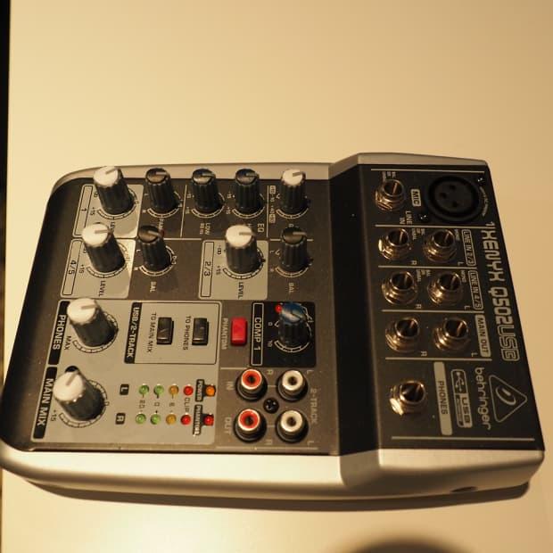 behringer xenyx q502usb usb audio mixer reverb. Black Bedroom Furniture Sets. Home Design Ideas