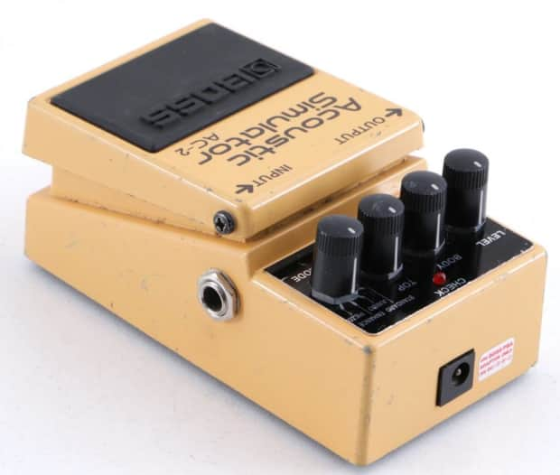 boss ac 2 acoustic simulator guitar effects pedal pd 1515 reverb. Black Bedroom Furniture Sets. Home Design Ideas